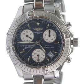 Breitling Colt A73350 Stainless Steel Chronograph Quartz 38mm Watch