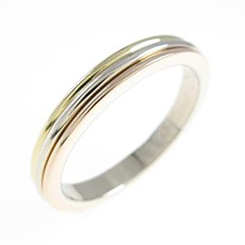 Cartier 18K Pink Gold/18K Yellow Gold/18K White Gold Three Gold Wedding Ring TkM-215