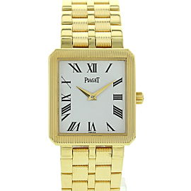 Piaget Protocole 50154 M601D 18K Yellow Gold Quartz 25mm Watch