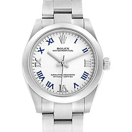 Rolex Oyster Perpetual Midsize 31 Smooth Bezel Ladies Watch 177200