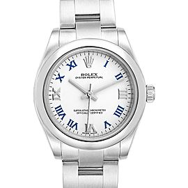 Rolex Oyster Perpetual Midsize 31 White Dial Ladies Watch 177200