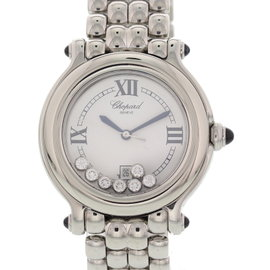 Chopard Happy Sport 27/8236-23 Stainless Steel White Dial Quartz 32mm Womens Watch