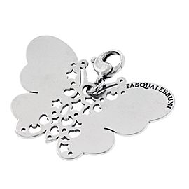 Pasquale Bruni Le Monde 925 Sterling Silver Butterfly Charm Pendant