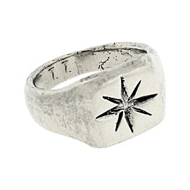 Gurhan 925 Sterling Silver & Palladium Ring Size 10