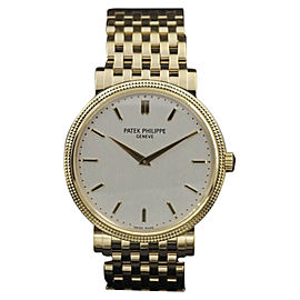 Patek Philippe Calatrava 5120J Yellow Gold 37mm Unisex Watch