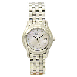 Gucci 5500L Stainless Steel 27mm Womens Watch