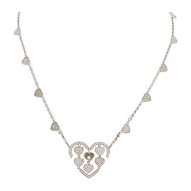 Chopard 18K White Gold with Diamond Necklace