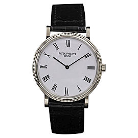 Patek Philippe Calatrava 5120 White Gold Automatic 35mm Unisex Watch