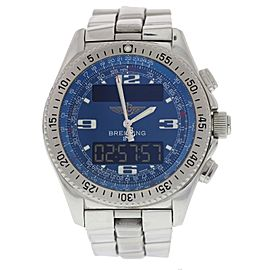 Breitling B-1 A68362 Chronograph Stainless Steel Quartz 44mm Mens Watch