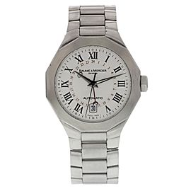 Baume & Mercier Riviera GMT 8670 Stainless Steel Automatic 40mm Mens Watch