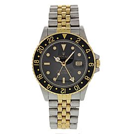 Rolex GMT-Master 16753 Stainless Steel & 18K Yellow Gold 40mm Mens Watch