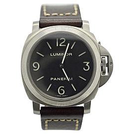 Panerai Luminor PAM176 Titanium Manual Mens 44mm Watch