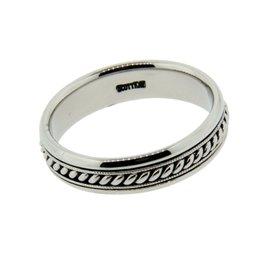 Scott Kay Palladium Wedding Band Ring Size 10.75