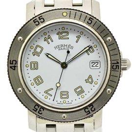 Hermes Clipper CL2.910 Stainless Steel Quartz 40mm Mens Watch