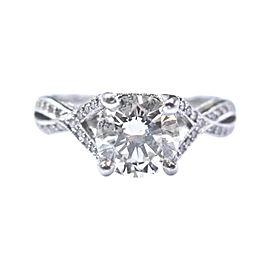 Tacori Platinum 950 Platinum Diamond Ring Size 6