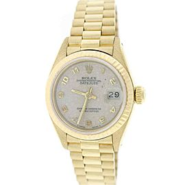 Rolex Datejust 69178 18K Yellow Gold Automatic 26mm Womens Watch