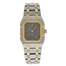 Audemars Piguet Royal Oak 18K Yellow Gold and Stainless Steel Quartz Vintage 24.5mm Womens Watch