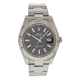 Rolex Datejust II 116334 Stainless Steel Automatic 41mm Mens Watch