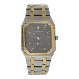 Audemars Piguet Royal Oak 6005SA.0.0477SA.01 18K Yellow Gold and Stainless Steel 32mm Mens Vintage Watch