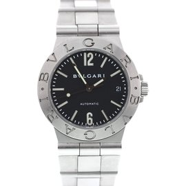 Bulgari Diagono LCV 35 S Stainless Steel Automatic 35.5mm Mens Watch