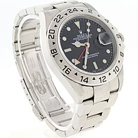Rolex Explorer II 16570 Stainless Steel & Black Dial Automatic 40mm Mens Watch