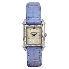 Girard-Perregaux 2592 Stainless Steel & Leather Quartz 23mm Womens Watch