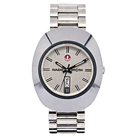 Rado Dia Star 636.0308.3 Stainless Steel & Tungsten Automatic 35mm Mens Watch