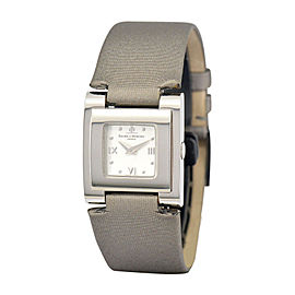 Baume & Mercier Catwalk MOA08169 Stainless Steel & Leather Quartz 24mm Womens Watch