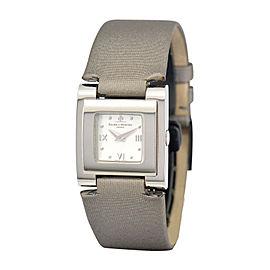 Baume & Mercier Catwalk MOA08169 Stainless Steel & Leather Quartz 24mm Womens Watch