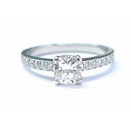 Tiffany & Co. Platinum Novo 0.71ct Diamond Ring Size 6