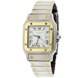 Cartier Santos Or Et Acier 2961 18K Yellow Gold / Stainless Steel Automatic 29mm Unisex Watch