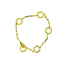 Chimento 18K Yellow Gold with 0.01ct Diamond Bracelet