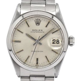 Rolex Oyster Precision 6466 Stainless Steel 30mm Unisex Watch
