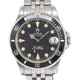 Tudor Prince Date Submariner 75090 Stainless Steel Automatic Vintage 36.5mm Mens Watch