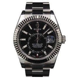 Rolex Sky-Dweller 326934 Stainless Steel Black Dial 42mm Mens Watch 2018