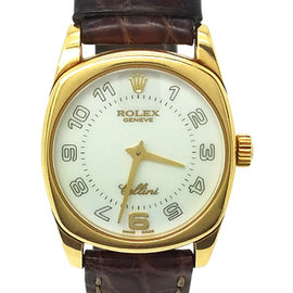 Rolex Cellini Danaos 6229 18K Yellow Gold Quartz 25mm Womens Watch