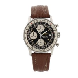 Breitling Old Navitimer 81610 Stainless Steel & Leather Automatic 41.5mm Mens Watch