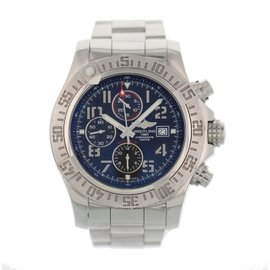 Breitling Super Avenger II A13371 Stainless Steel Automatic 48mm Mens Watch