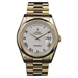 Rolex Day-Date 118208 36mm Unisex Watch
