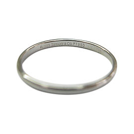 Tiffany & Co Lucida Platinum Wedding Band Ring Size 9.75