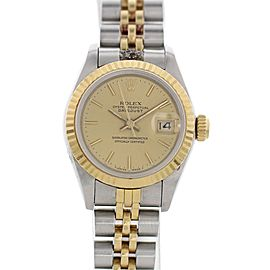 Rolex Datejust 69173 18K Yellow Gold & Stainless Steel 26mm Womens Watch