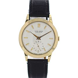 Ulysse Nardin 18K Yellow Gold Manual Winding Vintage 34.5mm Mens Watch