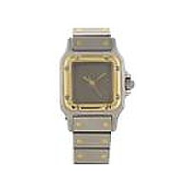 Cartier Santos Galbee Automatic Stainless Steel 24mm Womens Vintage Watch