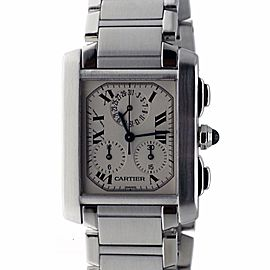 Cartier Tank Francaise 2303 20mm Mens Watch