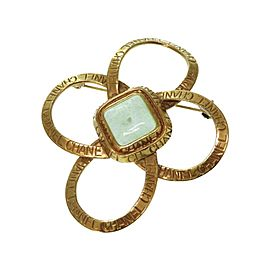 Chanel Gold Tone Hardware Vintage Brooch