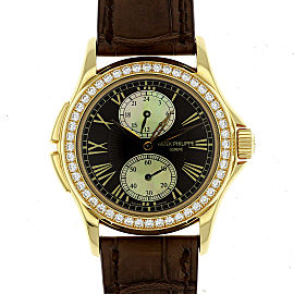 Patek Philippe Complicated Calatrava Travel Time 4934 R 35mm Womens Watch