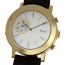 Piaget Altiplano Double Jeu 838P 43mm Mens Watch