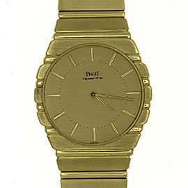Piaget Polo 7661 C 701 Vintage 34mm Mens Watch