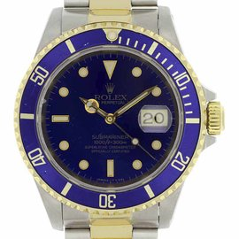 Rolex Submariner 16613 40mm Mens Watch