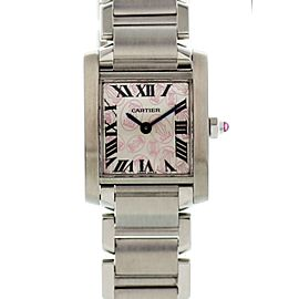 Cartier Tank Francaise 2384 / W51031Q3 20mm Womens Watch